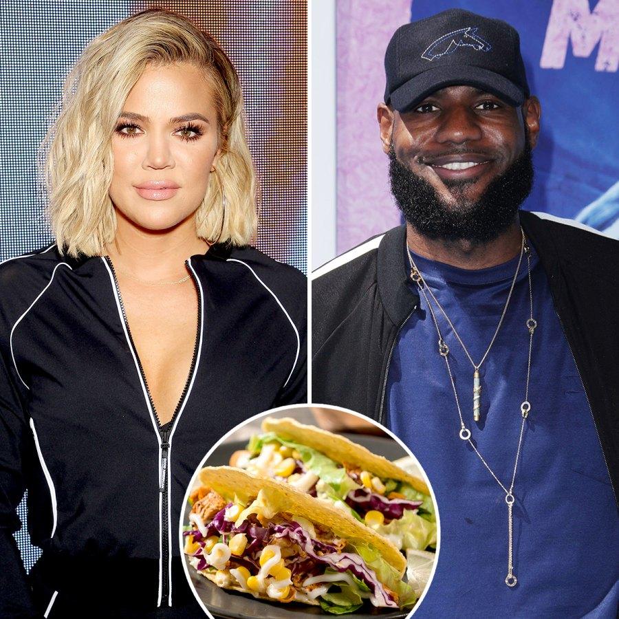 Kourtney-Kardashian-LeBron-James-Taco-Tuesday