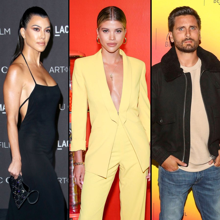 Kourtney Kardashian Thinks Sofia Richie Brings Out the Best in Scott Disick