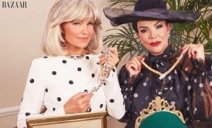 Kris Jenner Yolanda Hadid Dynasty-Inspired Shoot Harpers Bazaar