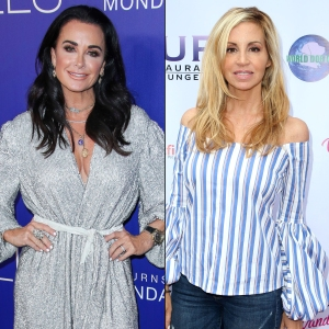 Kyle Richards Claims She's Not the Reason Camille Grammer Leaving RHOBH