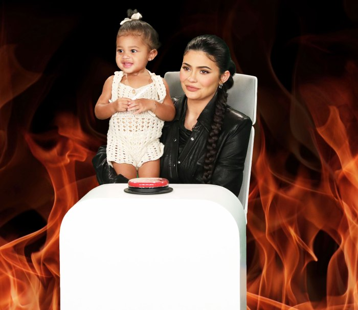 Kylie Jenner and Stormi Answer Ellens Questions About Making Messes