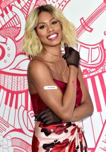 Laverne Cox's Secret for Maintaining Luscious Locks Involves Wigs