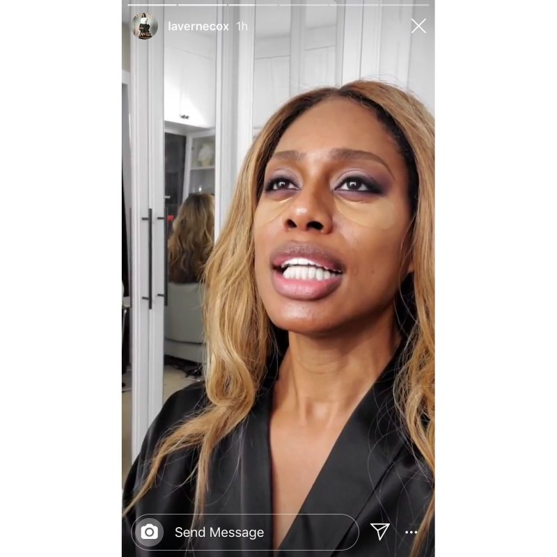 Laverne Cox Emmys 2019 Stars Getting Ready