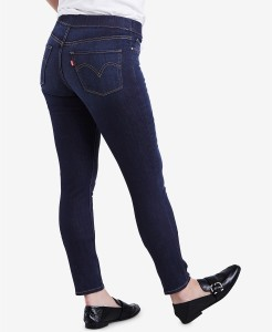 Levi's Skinny Perfectly Slimming Pull-On Jeggings Dark Blue