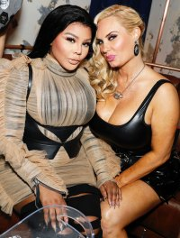 Lil' Kim and Coco Austin Us Weekly Most Stylish Party
