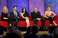 Lisa Kudrow, David Schwimmer, Courteney Cox, Matt LeBlanc, Jennifer Aniston Tribute to James Burrows Friends Cast Reunites 'Friends' Cast Reuniting Through the Years