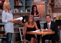 Lisa Kudrow, Jennifer Aniston, Courteney Cox, Jimmy Kimmel Live 'Friends' Cast Reuniting Through the Years