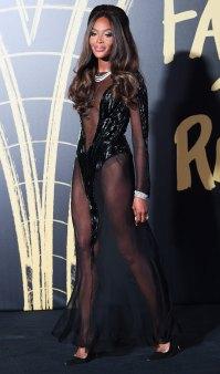 London Fashion Week - Naomi Campbell
