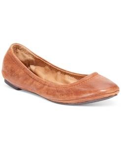 Lucky Brand Women's Emmie Ballet Flats Brown