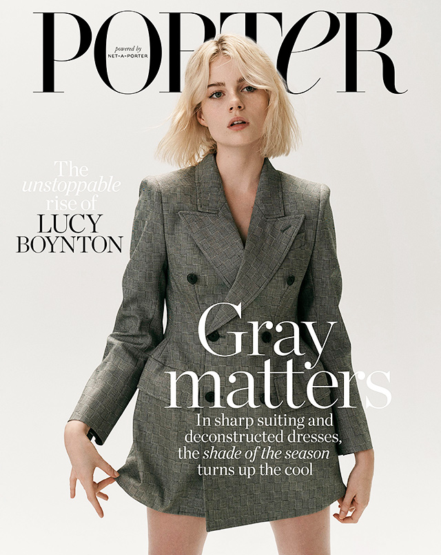 Lucy Boynton on the Cover of Porter Is Not OK With Fans Grabbing on Her Boyfriend Rami Malek