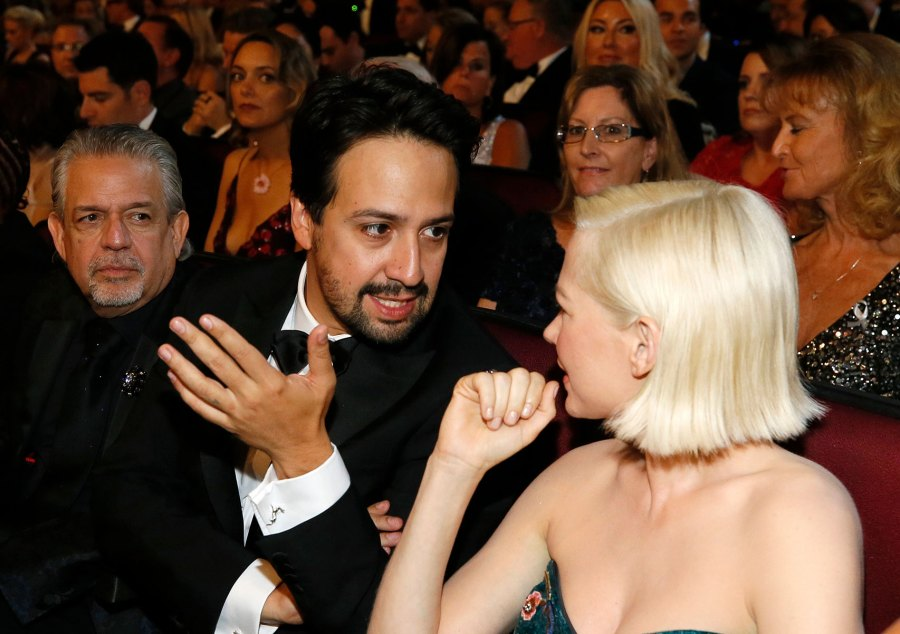 Lin Manuel Miranda, Michelle Williams What You Didn't See on TV Gallery Emmys 2019