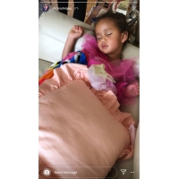 Luna Legend in Princess Dress Asleep