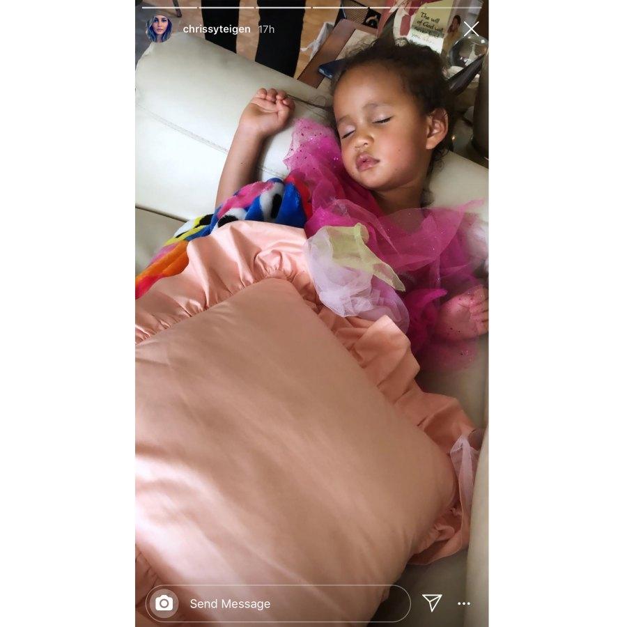 Luna Legend in Princess Dress Asleep