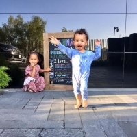Luna and Miles Legend Back to School