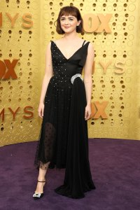 Maisie Williams Game of Thrones Slay Red Carpet Emmys 2019