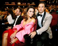 Mandy Moore and Milo Ventimiglia Inside Emmys 2019