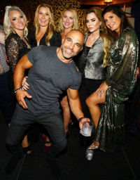 Margaret Josephs Kary Brittingham and Joe Gorga Us Weekly Most Stylish Party