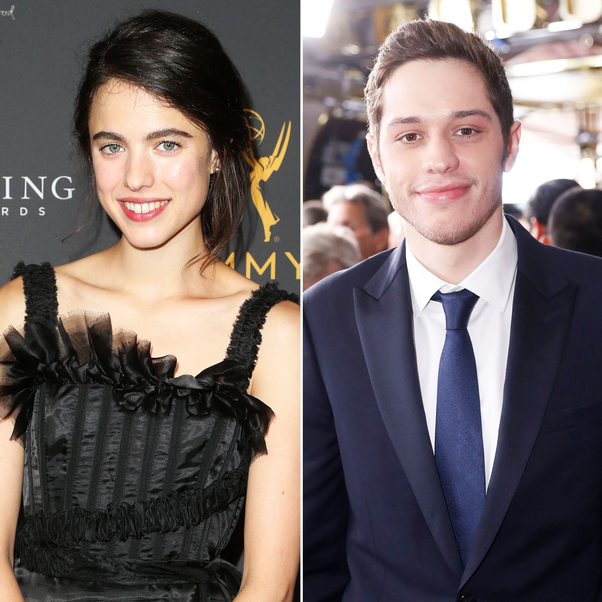 Margaret Qualley at the Casting Directors Nominee Reception Is Very Happy Amid Pete Davidson Romance