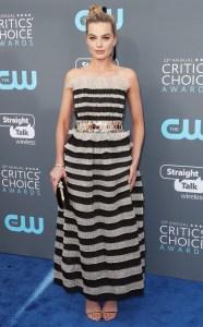 Margot Robbie at the 2018 Critics Choice Awards