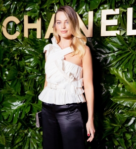 Margot Robbie Chanel Dinner September 12, 2019