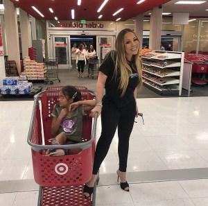 Mariah Carey Daughter Target Shopping Spree Instagram September 11, 2019
