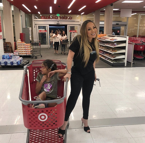 The WGCI Morning Show - Mariah Carey Was Spotted Shopping In Target!