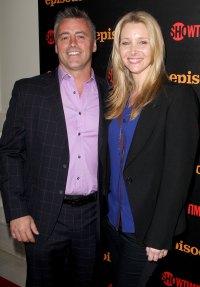 Matt LeBlanc and Lisa Kudrow Episodes Premiere 'Friends' Cast Reuniting Through the Years