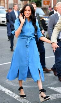 Meghan Markle Blue Dress September 23, 2019