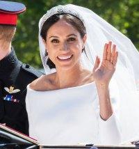 Meghan Markle Wedding Day American Designer