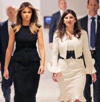 Melania Trump Black Dress September 23, 2019