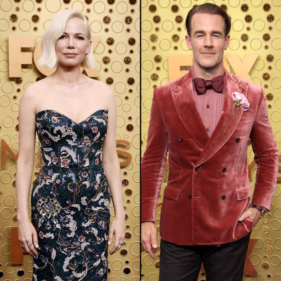 Michelle Williams Had No Idea that James Van Der Beek Was on Dancing With the Stars Emmys 2019