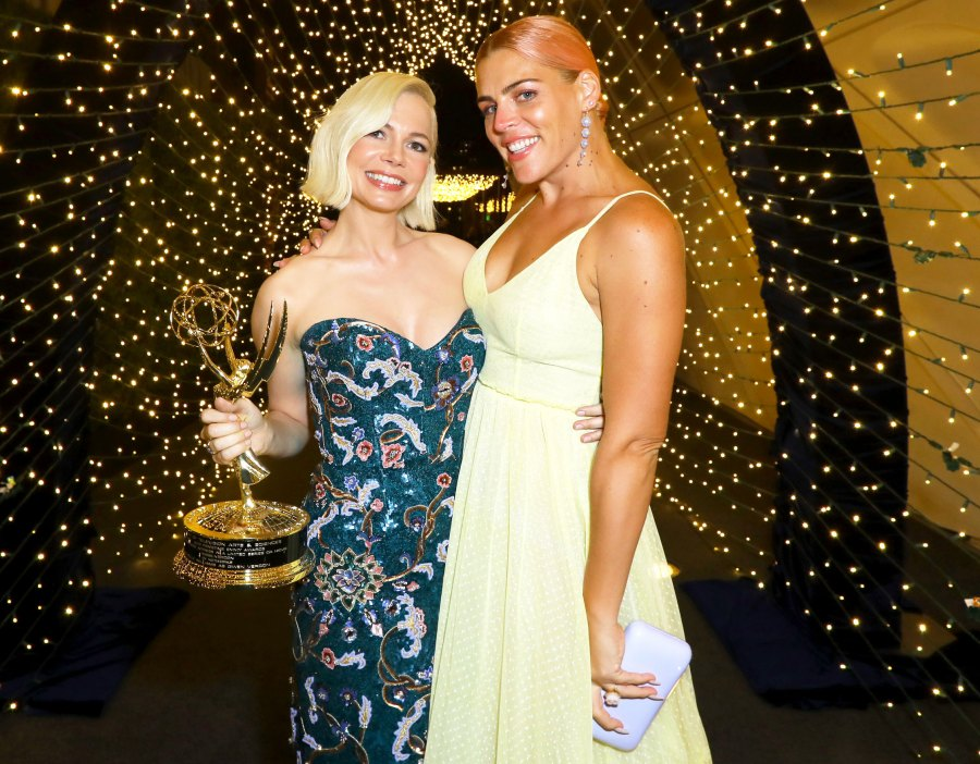 Michelle Williams and Busy Philipps Walt Disney Emmys 2019 After Party