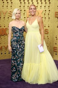 Michelle Williams and Busy Philipps What You Didn't See on TV Gallery Emmys 2019