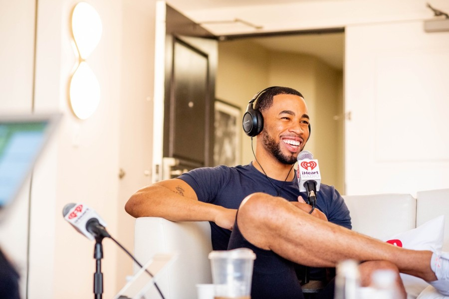 Mike Johnson Bachelor Podcast Suite at the 2019 iHeartRadio Festival