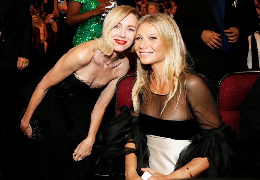 Naomi Watts and Gwyneth Paltrow Inside Emmys 2019