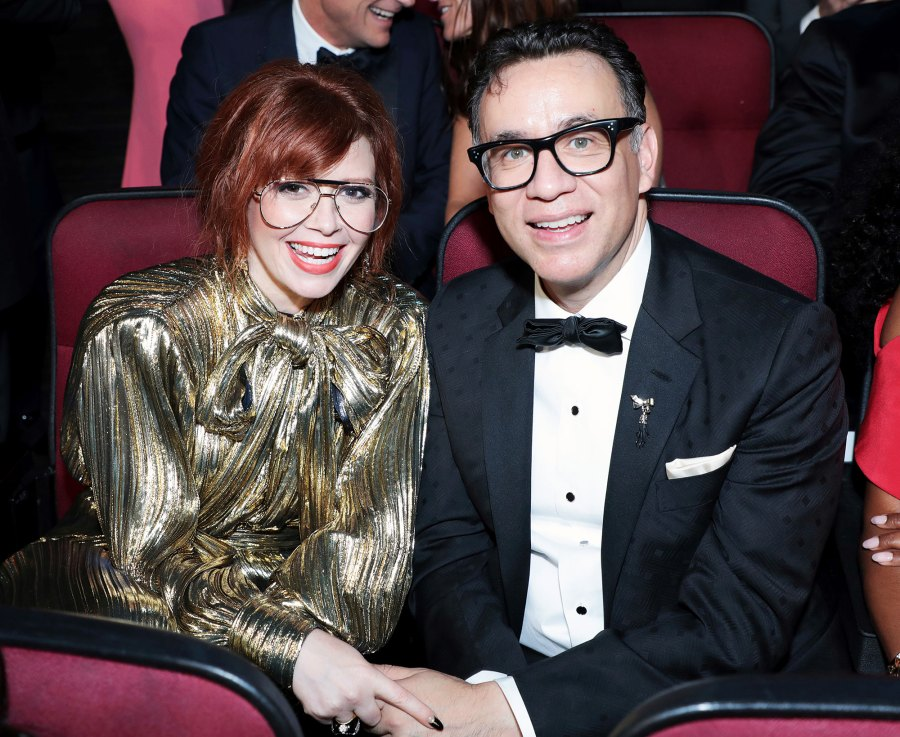 Natasha Lyonne and Fred Armisen Inside Emmys 2019