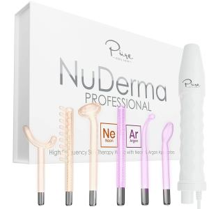 NuDerma Professional Skin Therapy Wand Set