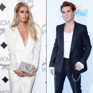 Paris Hilton Spotted Flirting With KJ Apa