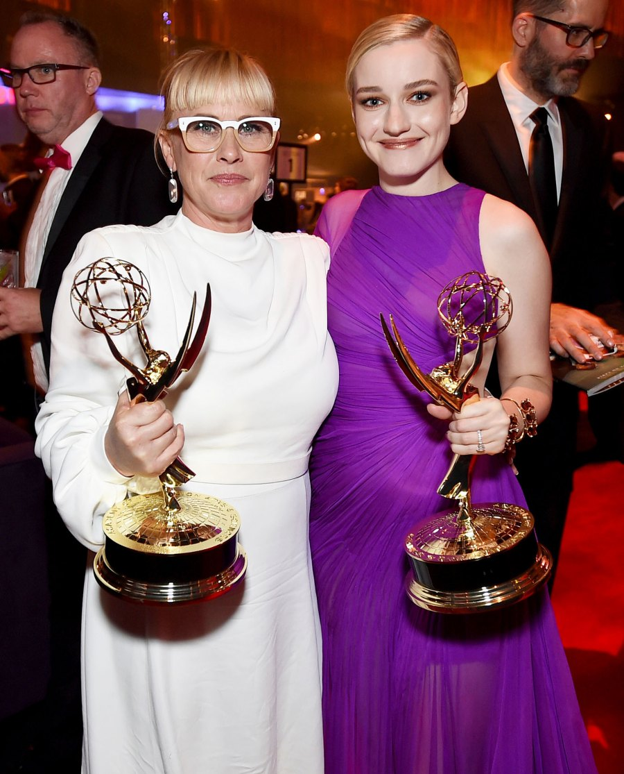 Patricia Arquette and Julia Garner Governors Ball Emmys 2019 After Party