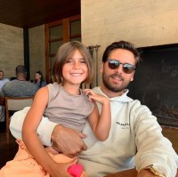 Penelope Disick and Scott Disick Pink Paradise