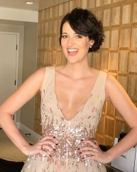 Phoebe Waller Bridge Emmys 2019 Stars Getting Ready