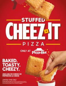 Pizza Hut Cheez-Its Launch New Stuffed Cheez-It Pizza