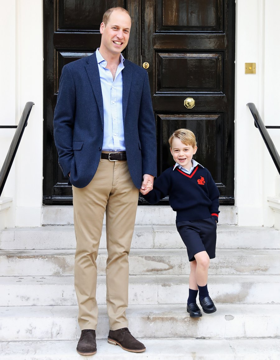 Prince-George-first-day-at-school