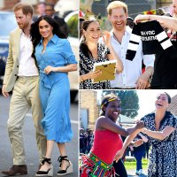 Prince Harry Duchess Meghan Royal Tour Africa With Son Archie