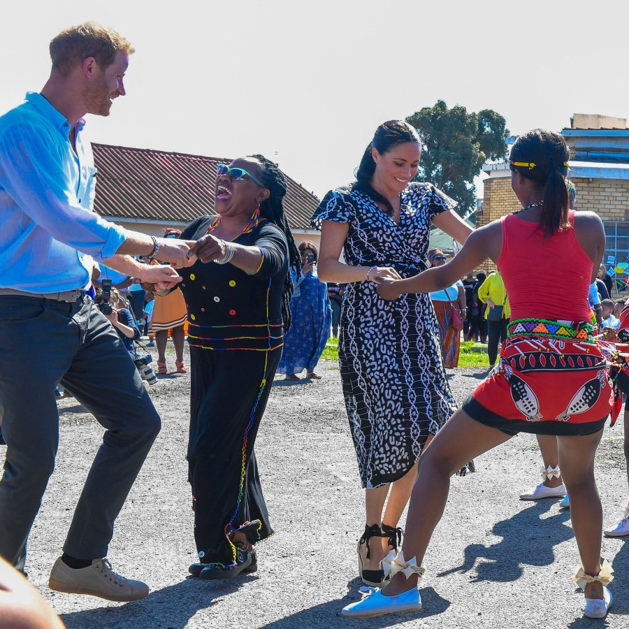 01 Prince Harry, Duchess Meghan Show Off Dance Moves in South Africa