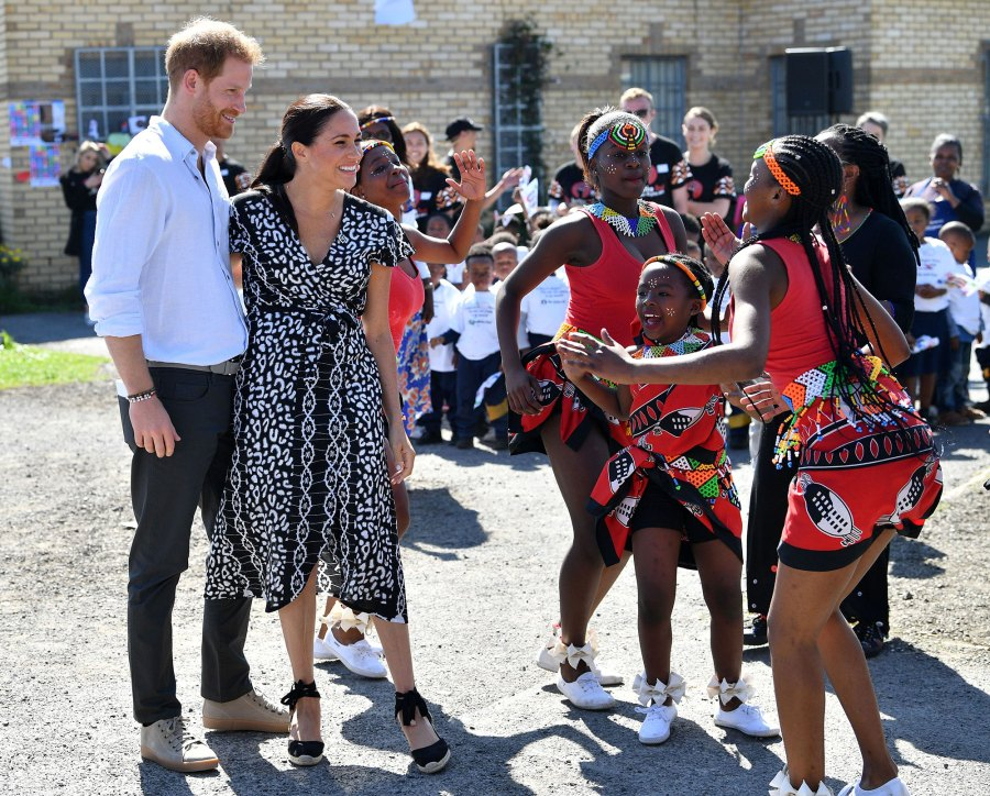 02 Prince Harry, Duchess Meghan Show Off Dance Moves in South Africa