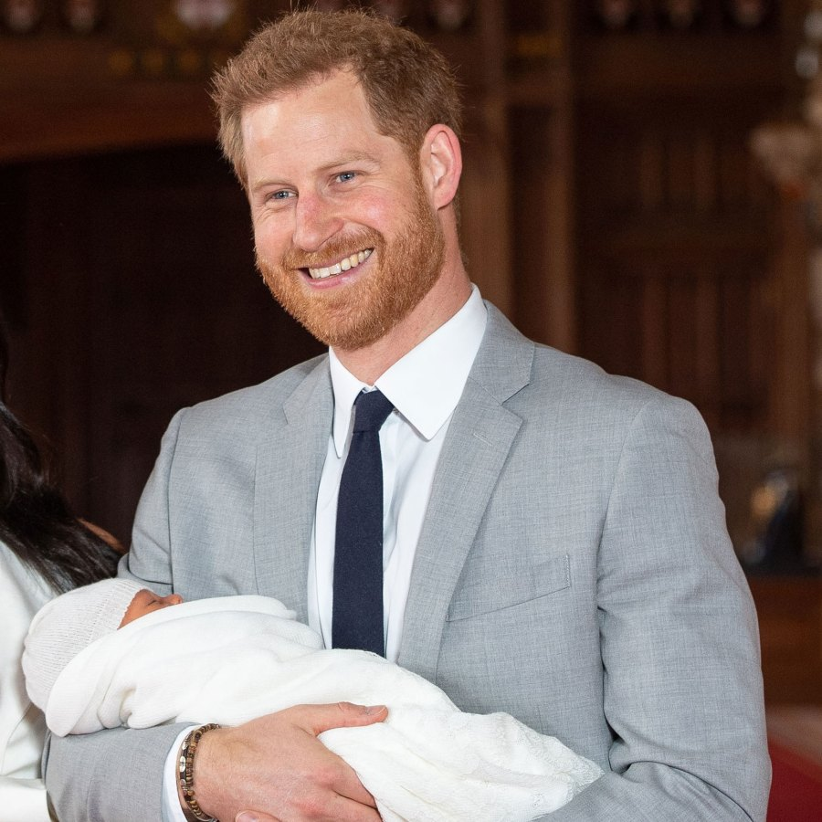 Prince Harry Gives Update on 4-Month-Old Son Archie With Duchess Meghan