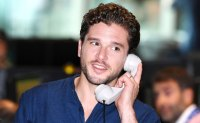 Prince Harry Kit Harington Answer Phones 9/11 Charity Event
