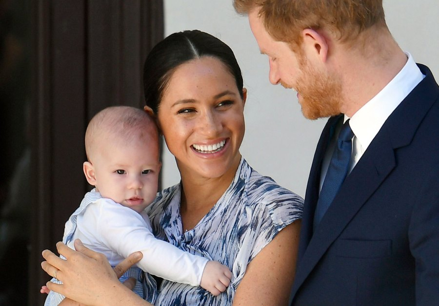 Prince Harry and Duchess Meghan's 4-Month-Old Son Archie Makes His Debut on South Africa Tour