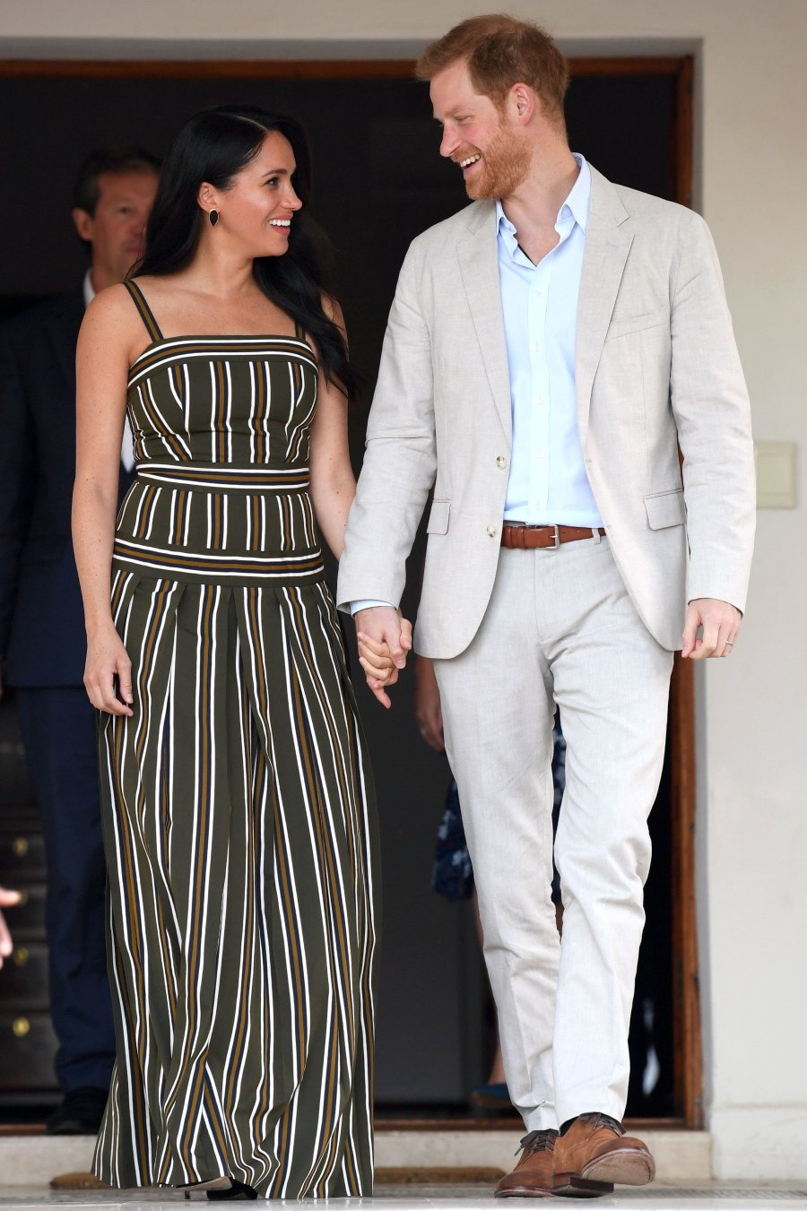 Prince Harry and Duchess Meghan Embark on Royal Tour of Africa With 4-Month-Old Son Archie